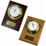 Barometer, Small Marine Style Wall Mounted, Personalised,  ref MB02